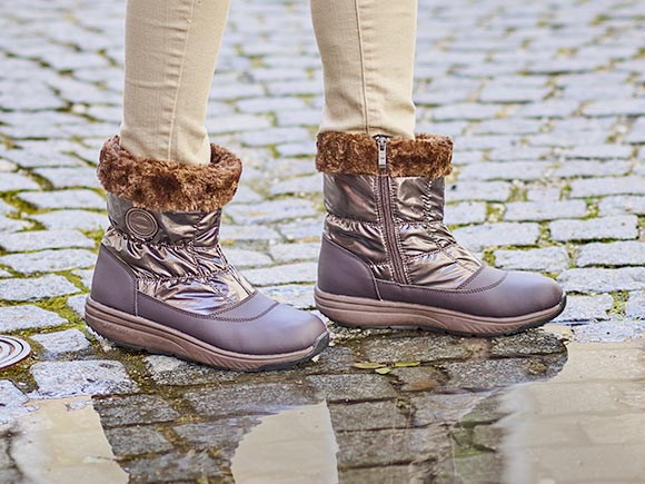Walkmaxx Comfort Winter Boots Women Low 3.0
